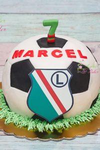 tort na urodziny – urodziny dziecka – minsk mazowiecki – tort 3d – tort w ksztalcie pilki – legia warszawa – tort dla chlopca – tort dla kibica