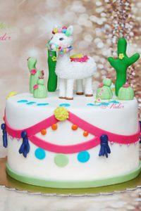 tort na urodziny – urodziny dziecka – minsk mazowiecki – figurka lama – figurki kaktusy – tort dla dziewczynki – tort dla chlopca