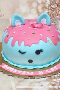 tort na urodziny – urodziny dziecka – minsk mazowiecki – tort 3d – num noms – tik tak – tort dla dziewczynki