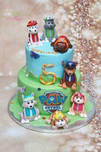 tort na urodziny – urodziny dziecka – minsk mazowiecki – figurki chase – figurki paw patrol – psi patrol figurka skye – tort pietrowy – tort dla dziewczynki – tort dla chlopca