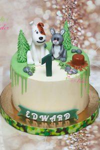 tort na urodziny – urodziny dziecka – minsk mazowiecki – figurka reksio – figurka zajac- drip cake – tort w kremie – beza szwajcarska – tort dla dziewczynki – tort dla chlopca