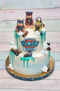 tort na urodziny – urodziny dziecka – minsk mazowiecki – figurki chase – figurki paw patrol – psi patrol – drip cake – tort zacierany – tort dla chlopca