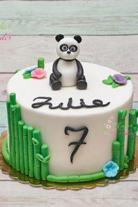 tort na urodziny – urodziny dziecka – minsk mazowiecki – tort 3d – figurka panda – bambus ozdobny – tort dla dziewczynki – tort dla chlopca